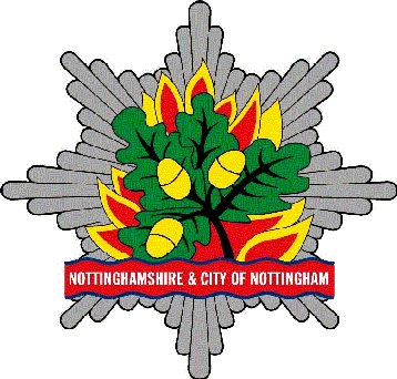 Logo for Nottinghamshire & City of Nottingham Fire & Rescue Authority